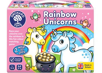 ORCHARD GAMES Rainbow Unicorns