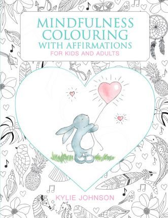 Mindfulness Colouring Books With Affirmations