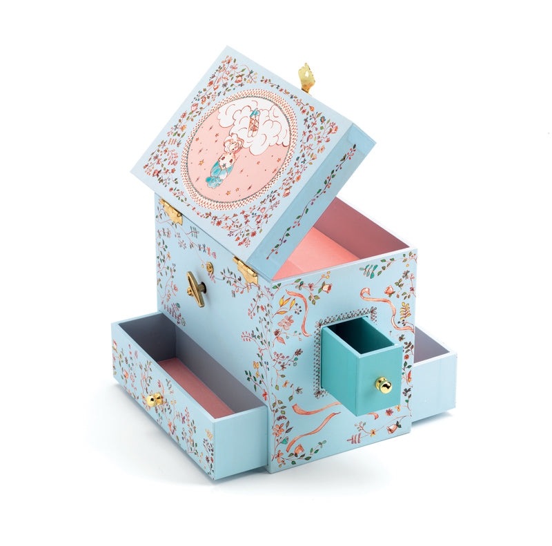 Djeco Ballerina On Stage Musical Jewellery Box