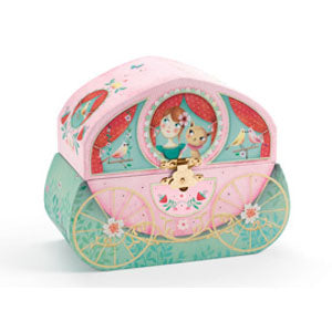 Djeco Carriage Ride Musical Jewellery Box
