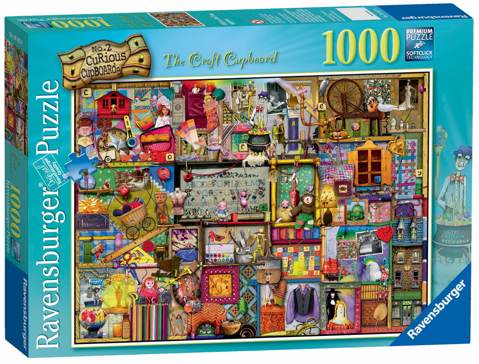 RAVENSBURGER 1000 piece - The Craft Cupboard