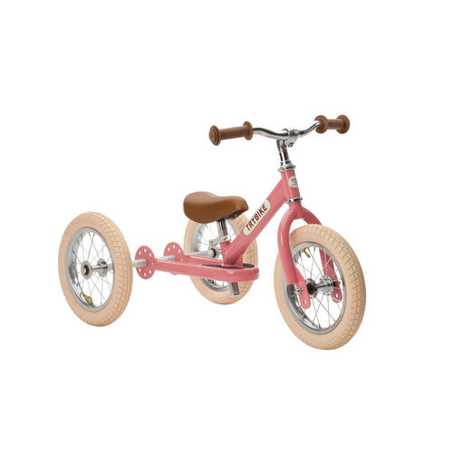 TRYBIKE Trike and Balance Bike - Pink