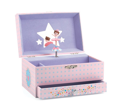 Djeco Ballerina Musical Jewellery Box