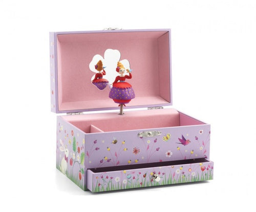 DJECO Princess Melody Jewellery Box