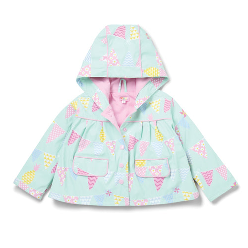 Penny Scallan Pineapple Bunting Raincoat
