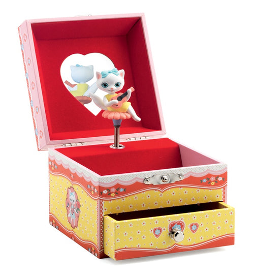 Djeco Cat Song Musical Jewellery Box