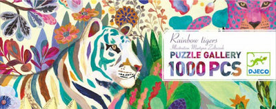 DJECO Rainbow Tigers Puzzle 1000pc