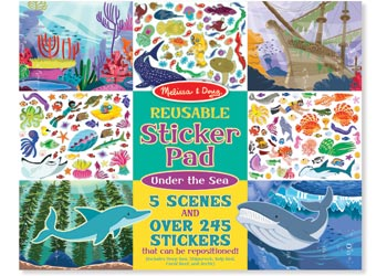 MELISSA AND DOUG - Reusable Sticker Pad