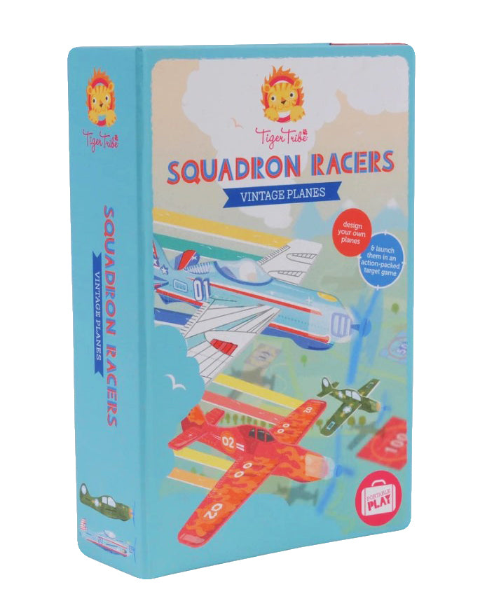 TIGER TRIBE Vintage Plane Squadron Racers
