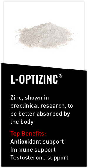 Mdrive ingredient L-OptiZinc