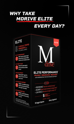 Why take Mdrive Elite every day?