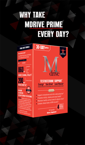 Why take Mdrive Prime every day?
