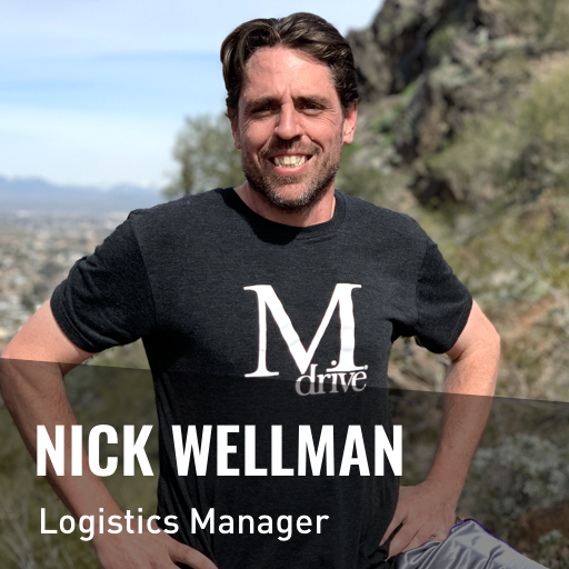 Nick Wellman - Mdrive Logistics Manager