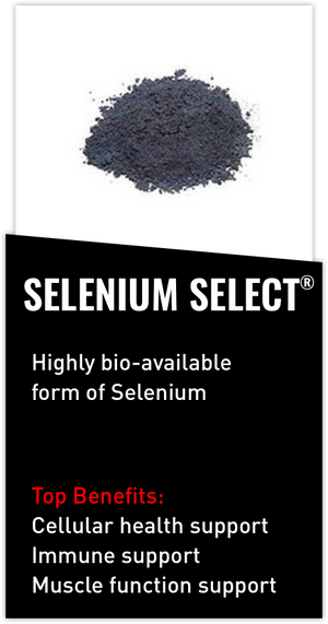 Mdrive ingredient Selenium SeLECT