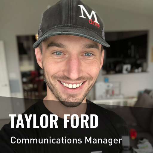 Taylor Ford - Mdrive Communications Manager