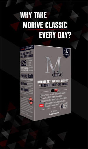 Why take Mdrive Classic every day?