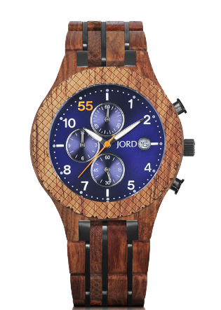 JORD Wood Conway Chronograph Watch