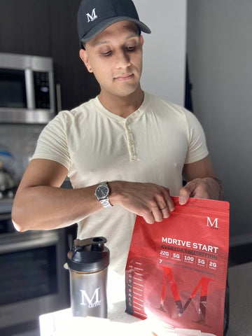 mdrive Protein Powder Blend Of 2020 For Muscle