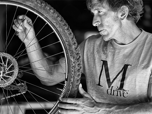 mdrive guy with wheel
