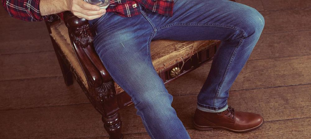Mens fashion trend denim