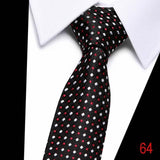 100% Silk tie skinny 7.5 cm ties for men -slim cotton - NewVision