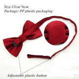 20 Colors  Solid Fashion Bowties