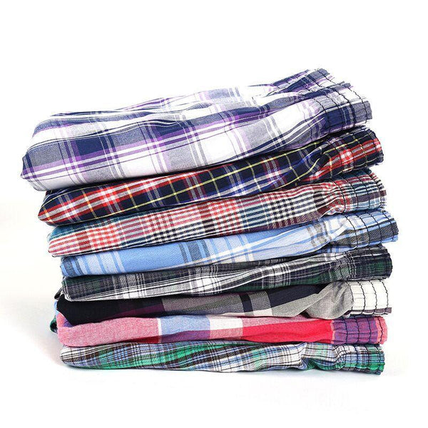 5 pcs Mens Underwear Boxers Casual Cotton