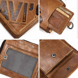 Crazy Horse Genuine Leather Wallet