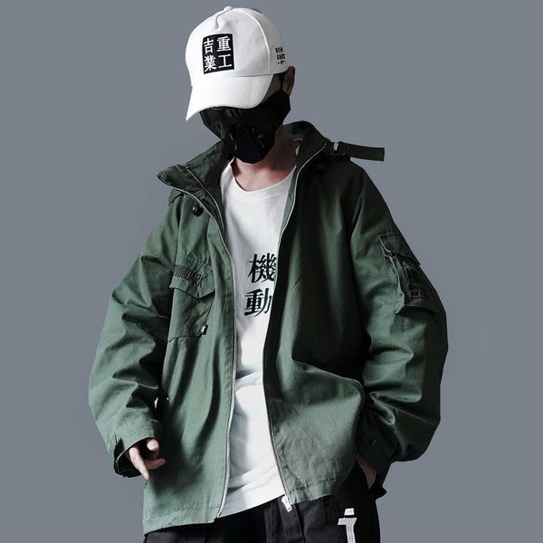 Hip Hop Cargo Jackets