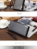 Baellerry Men Wallets-Classic Long Style Card Holder Male - NewVision