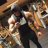 Bodybuilding Cotton Gyms Fitness Hooded - NewVision