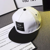 BROOKLYN Letters Solid Color Patch Baseball Cap