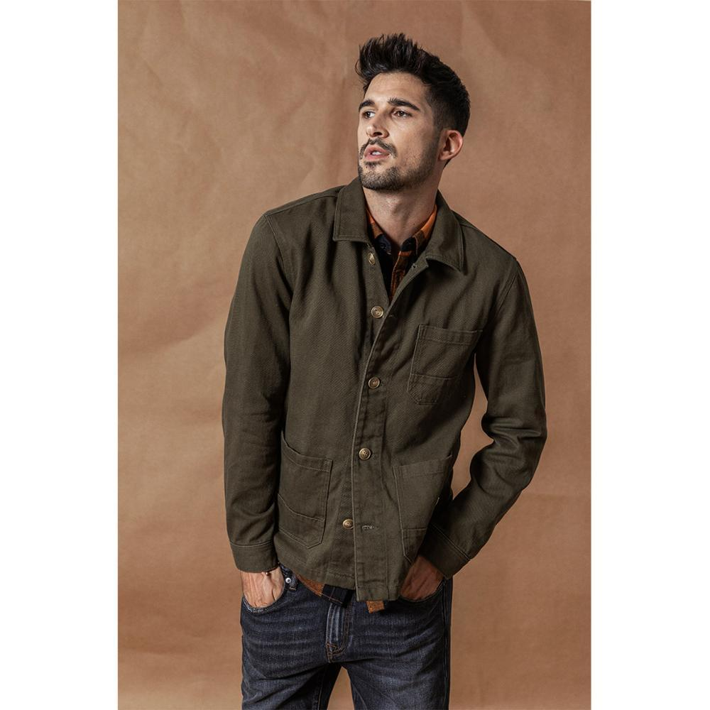 Cargo Jacket Fashion 100% cotton