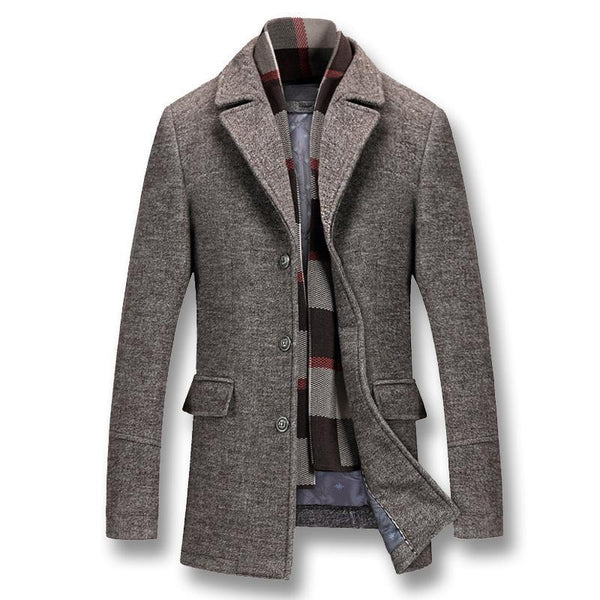 Casual Male Coats-Outerwear Coats - NewVision