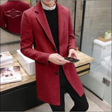 Casual Men Overcoat - NewVision