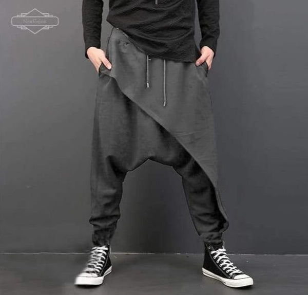 Casual Pants (Black- Gray) - NewVision