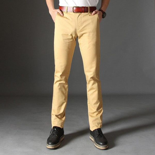 Casual Pants Cotton Pants for Male