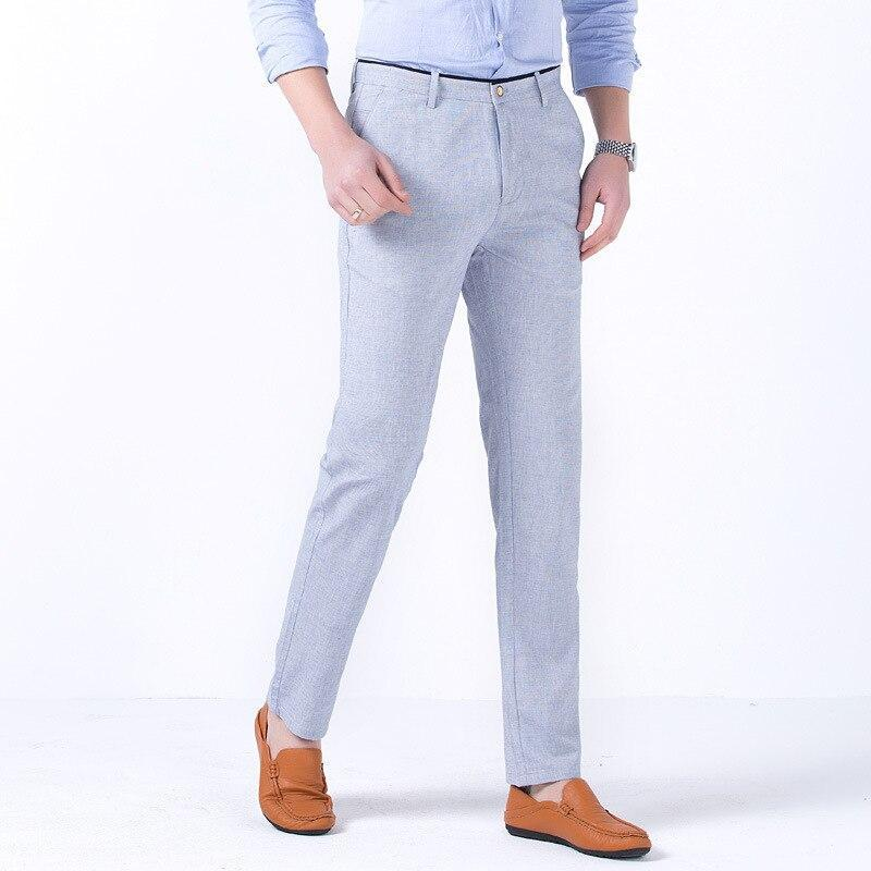 Casual Trousers Straight Tube Pants