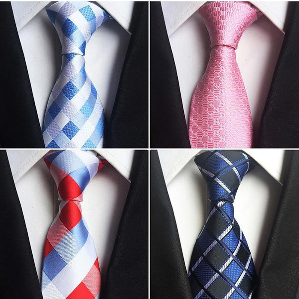 Classic 100% Silk Men's Ties - NewVision