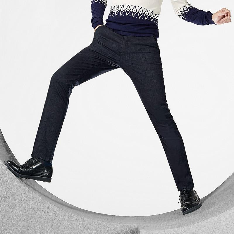 Comfortable Business Micro-elastic Straight Pants