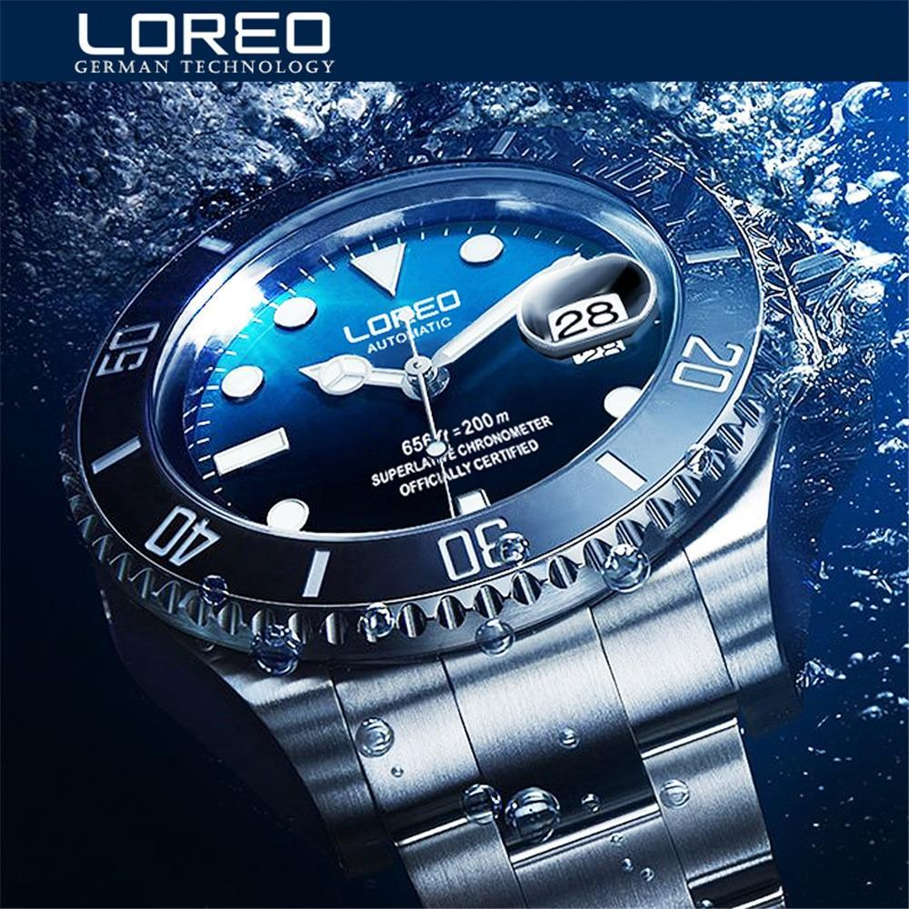 Dial Luxury Men Automatic Watches Stainless Steel