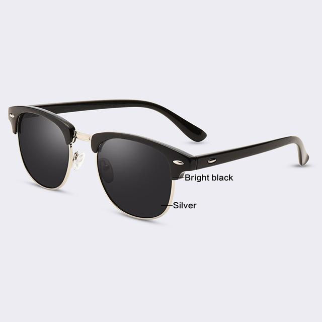 Half Metal Sunglasses Men & Women - NewVision
