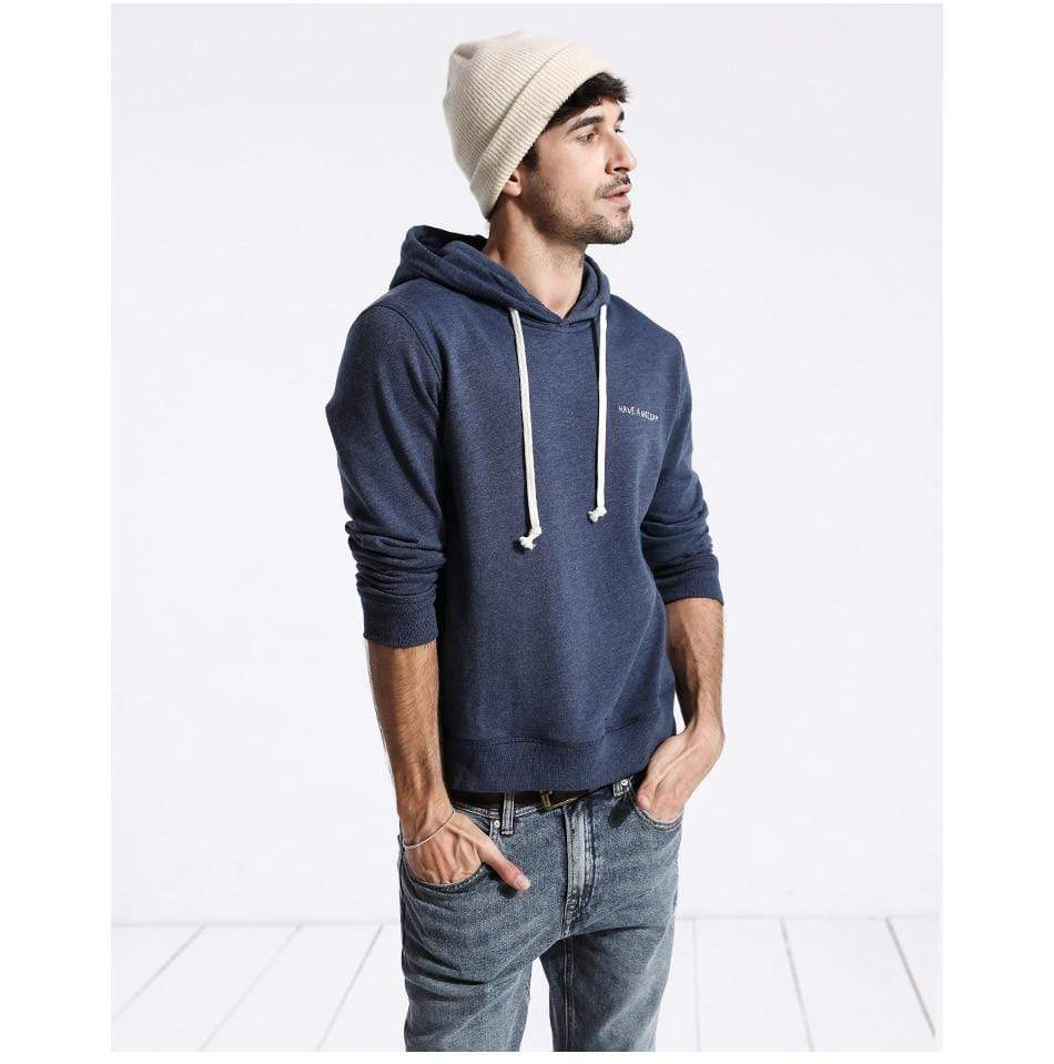 Hoodie Male Casual Slim Fit Plus Size