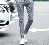 Ice silk casual pants