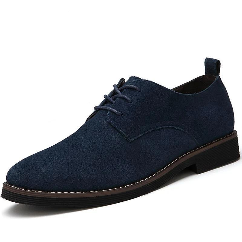 Leather Men Casual Shoes -Spring Autumn - NewVision