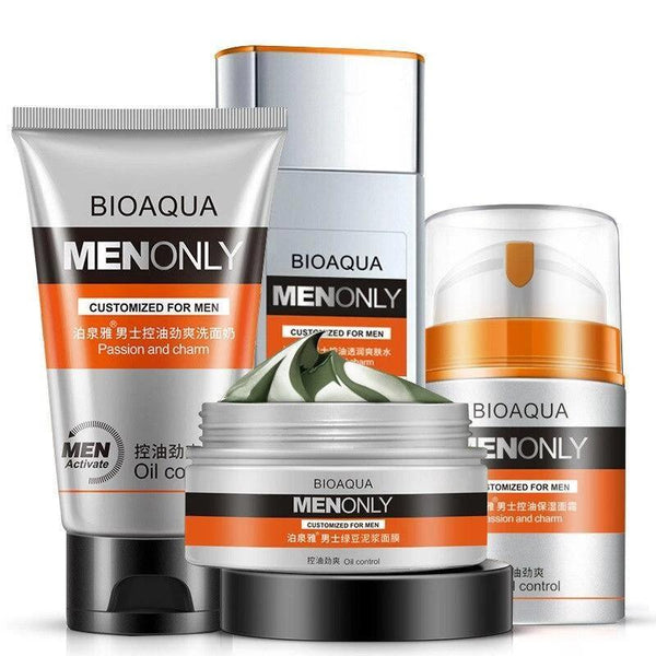 Men Oil-control Skin Care cream set face care 4pcs