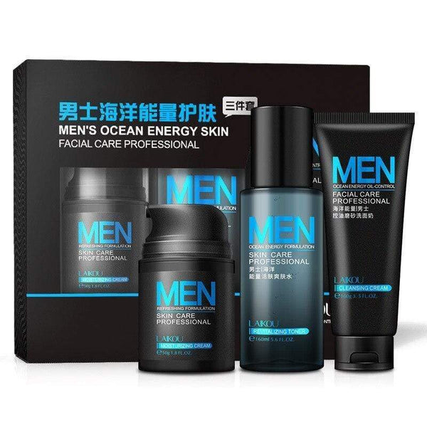 Men's cosmetic set boxed moisturizing cream / toner /