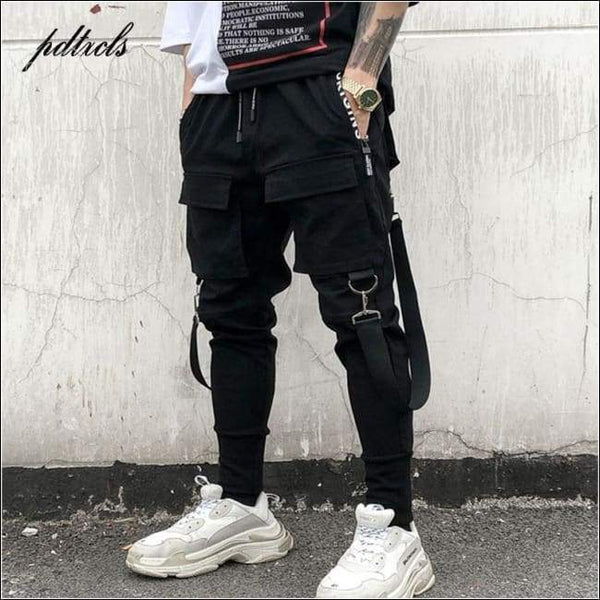 Men's Hip Hop Sweatpants Joggers Full Length Pants
