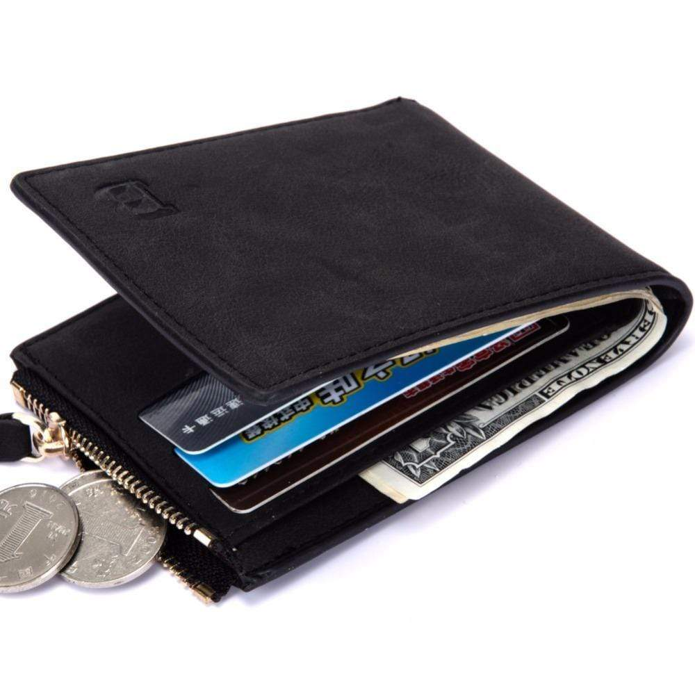 Mens Wallets Short Coin Purse