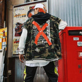 Military Vests - Jacket -Autumn Hooded
